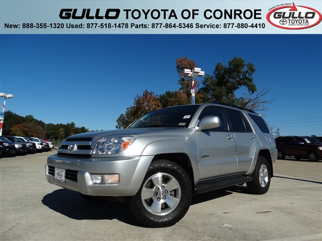 2005: Toyota, 4Runner, Limited, MOONROOF, Sport Utility
