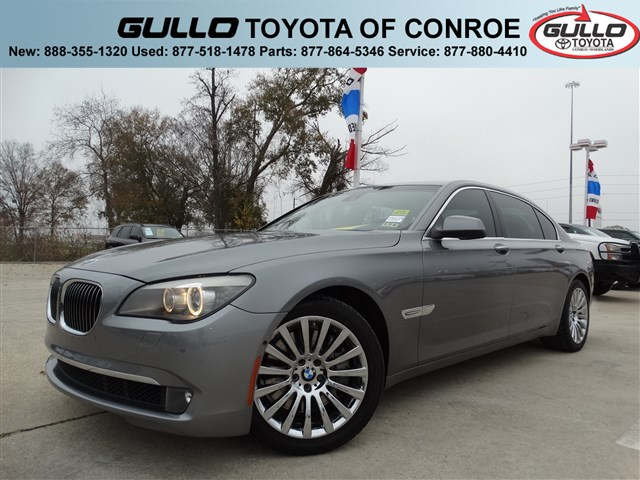 2010: BMW, 7 Series, 750Li, CAMERA PKG, 4dr Car