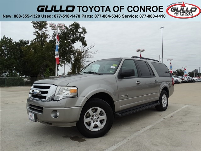 2008: Ford, Expedition EL, XLT, CD PLAYER, Sport Utility