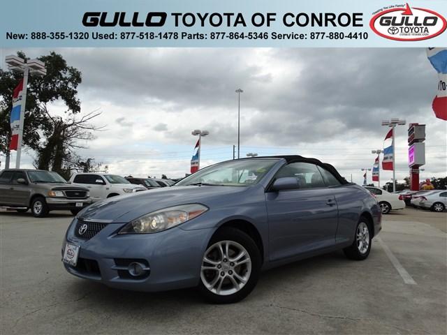2007: Toyota, Camry Solara, SE, CD/MP3, Convertible