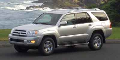 2004: Toyota, 4Runner, Limited, MOONROOF, Sport Utility