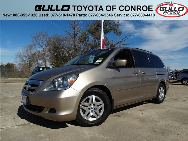 2007: Honda, Odyssey, EX, Mini-van, Passenger