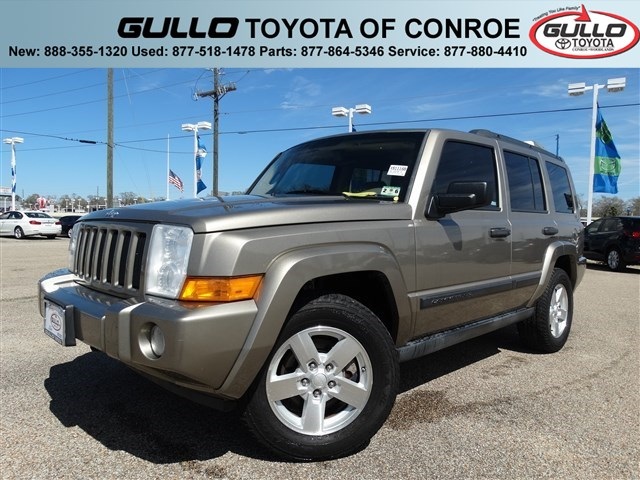2006: Jeep, Commander, CD PLAYER, Sport Utility