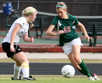 Soccer: Lady Highlanders drop 2-1 decision   Woodlands Online