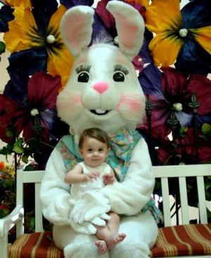 like the Easter Bunny ...