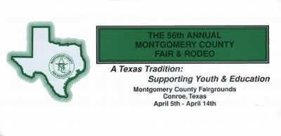 Montgomery County Fair And Rodeo April 5 14 Woodlands Online