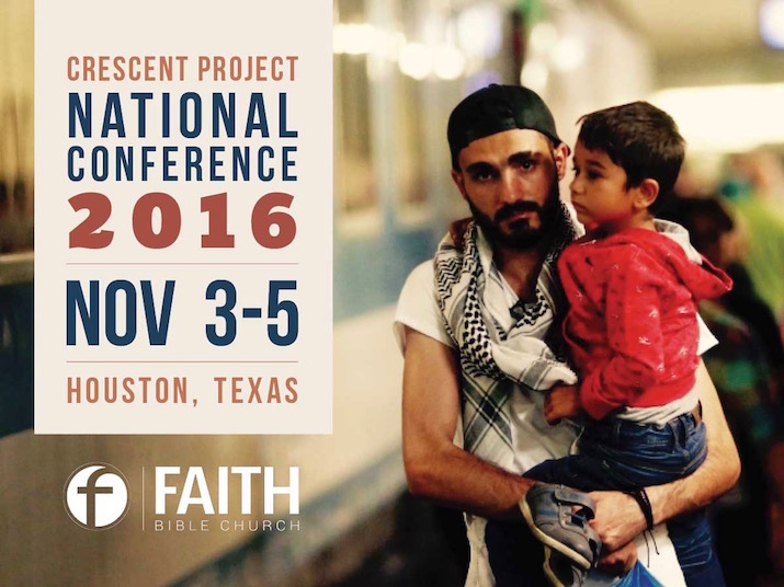Faith Bible Church to host Crescent Project's 2016 National Conference