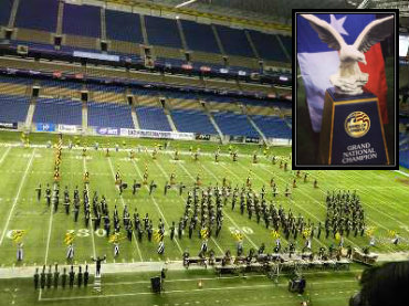 The Woodlands High School Band Wins Grand National Title