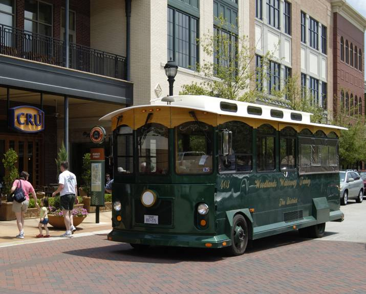 The Woodlands Township enhances trolley service in time for holidays