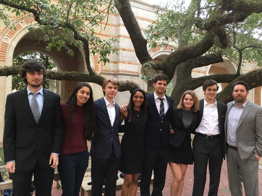 John Cooper students at Ethics Bowl