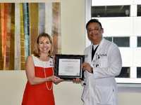 "Ali Rizvi ""Physician of the Year"" at Houston Methodist The Woodlands Hospital"