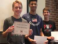 The Woodlands Quentin Grimes awards Gatorade Play it Forward Grant