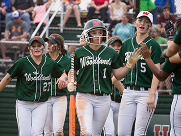 The Woodlands vs. Oak Ridge Softball Highlights 3-17-15