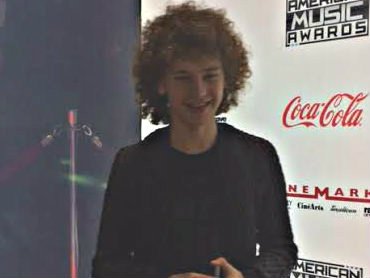 Francesco Yates performing at Cinemark Tinseltown The Woodlands