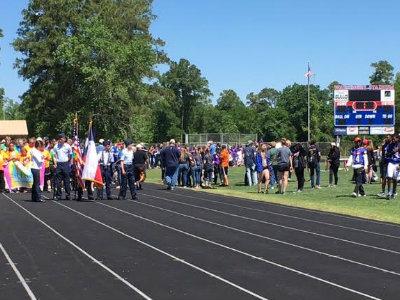 Woodlands Kiwanis Club 2016 Special Olympics Parade of Athletes