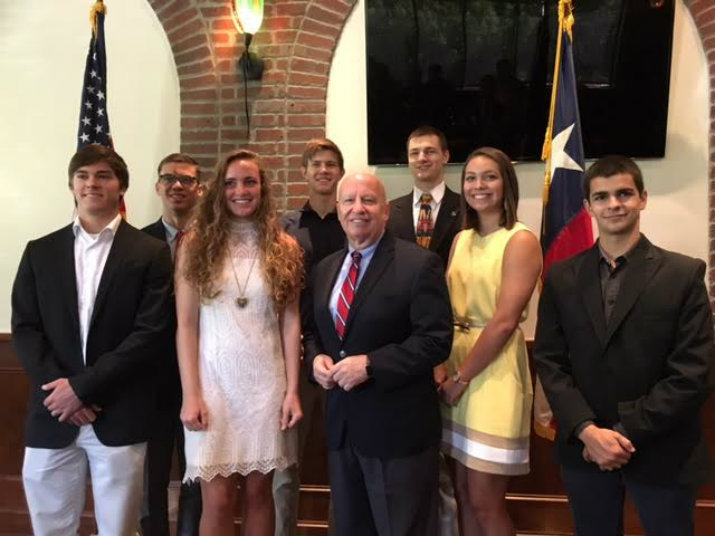 Cadets & midshipmen appointees to military service academies for 8th Congressional District of Texas