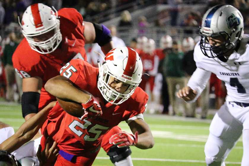 High School Football Playoffs Player of the Game: The Woodlands vs. Rockwall - 11/18/17