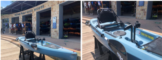 Riva Row Boat House in The Woodlands Adds Pedal Kayaks to Rental Options