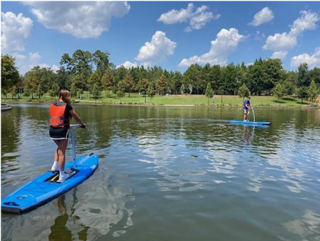 New Elliptical Stand-Up Paddleboards Now Available at Riva Row Boat House in The Woodlands