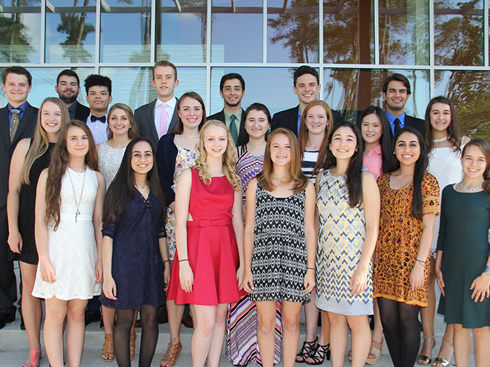 Cooper Chapter of Cum Laude Society inducts seniors ...