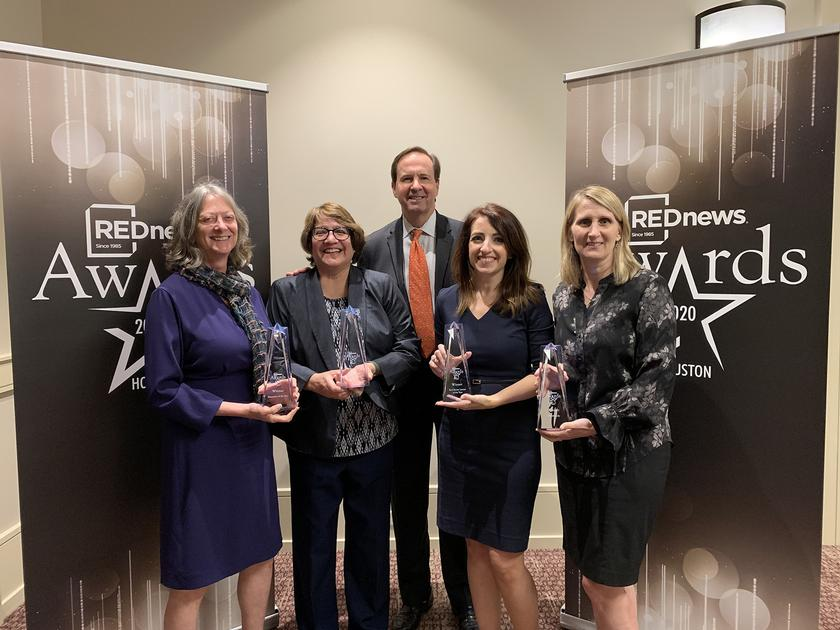 Howard Hughes Corporations Wins Four Coveted Awards from REDNews