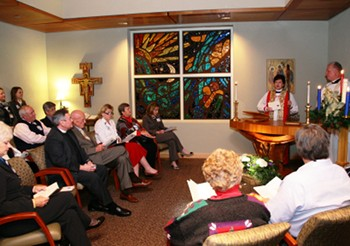 Ceremonies held for the Chapels at St. Luke's