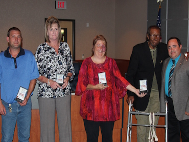 CISD transportation employees recognized at Board meeting