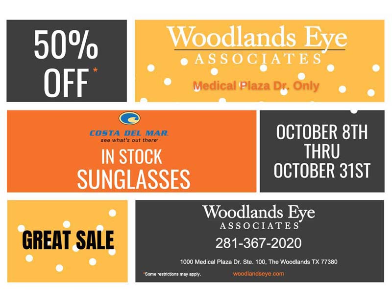Costa Del Mar Sunglasses Sale through October