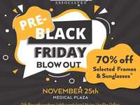 Woodlands Eye Pre-Black Friday Sale (Medical Plaza)