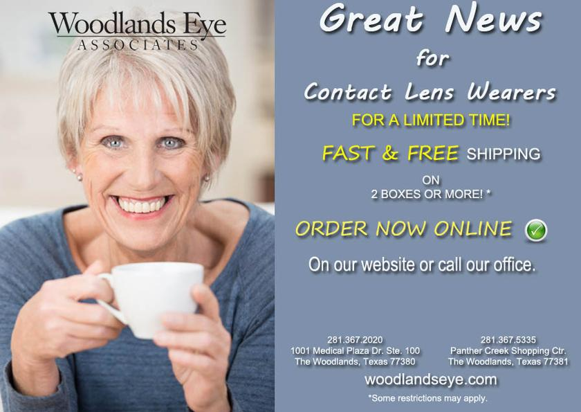 Fast & Free Shipping on Contacts