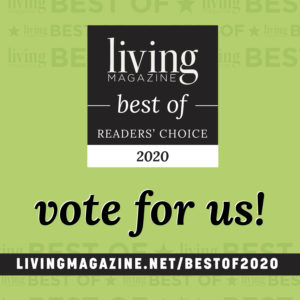 Living Magazine 'Best of 2020' Vote for us!