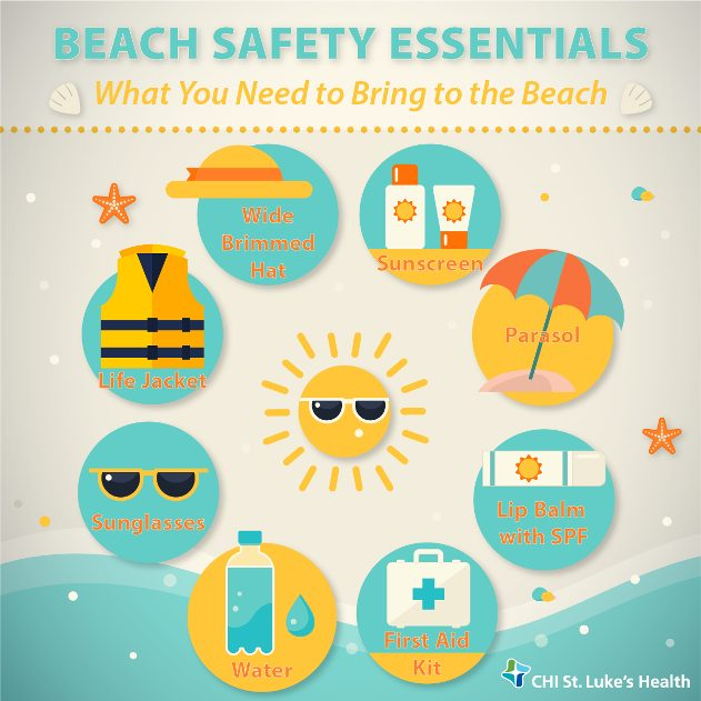 aeed7fd92d530 Staying Healthy and Safe at the Beach