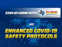 Stay-At-Home with Hal Watson and Enhanced COVID-19 Safety Protocols