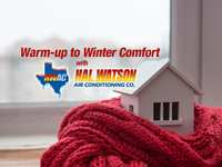 Warm-up to Winter Comfort with Hal Watson
