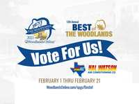 Best of The Woodlands Voting is Underway - Feb 1 thru Feb 21