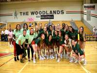 The Woodlands Volleyball's Dylan Maberry breaks school record