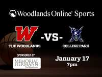 Boys Hoops: The Woodlands vs College Park will be a live WOL broadcast