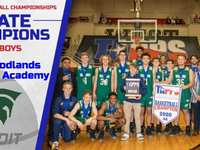The Woodlands Christian Academy wins TAPPS 4A Boys Basketball State Championship
