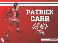 The Woodlands HS alum Patrick Carr signs with Seattle Seahawks