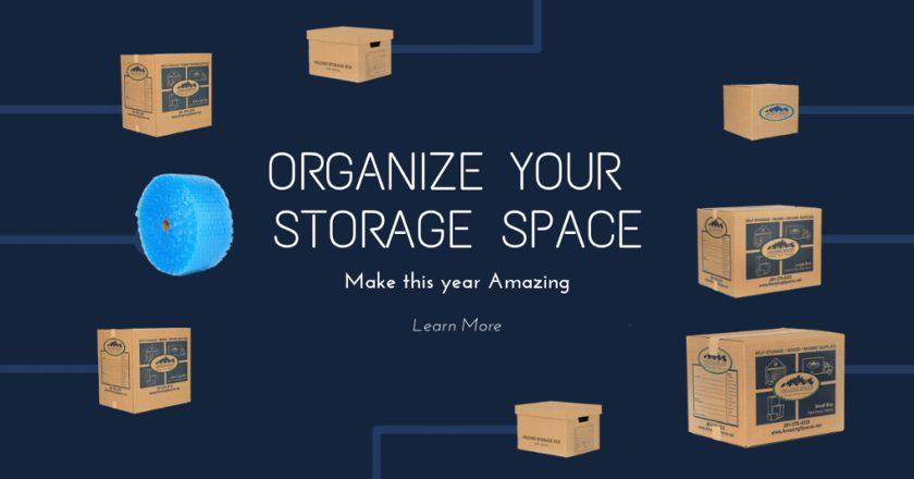 Organizing your storage unit!