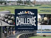 New Student Athlete Challenge, filmed at Topgolf