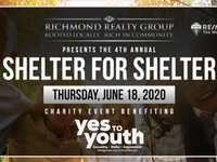 Join Us for Shelter for Shelter June 18th