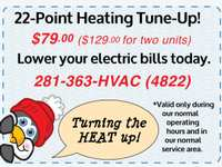 22-Point Heating Inspection and Tune-Up