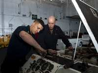 Magnolia Sailor Serves in Atlantic Aboard USS Dwight D. Eisenhower