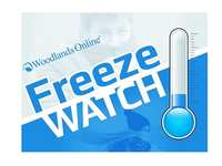 Hard Freeze Watch to go into Effect in The Woodlands Tonight