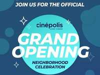 Cinepolis Luxury Cinemas Invites You to Their Grand Opening