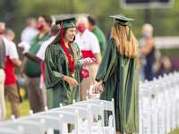 View Photos from The Woodlands High School Graduation Ceremony