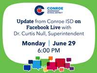 CISD Facebook Live Update Tonight, June 29