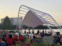 Rock the Row Free Concert Series Returns to The Woodlands