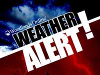 The Woodlands and Montgomery County Under Severe Thunderstorm Watch Until 7PM